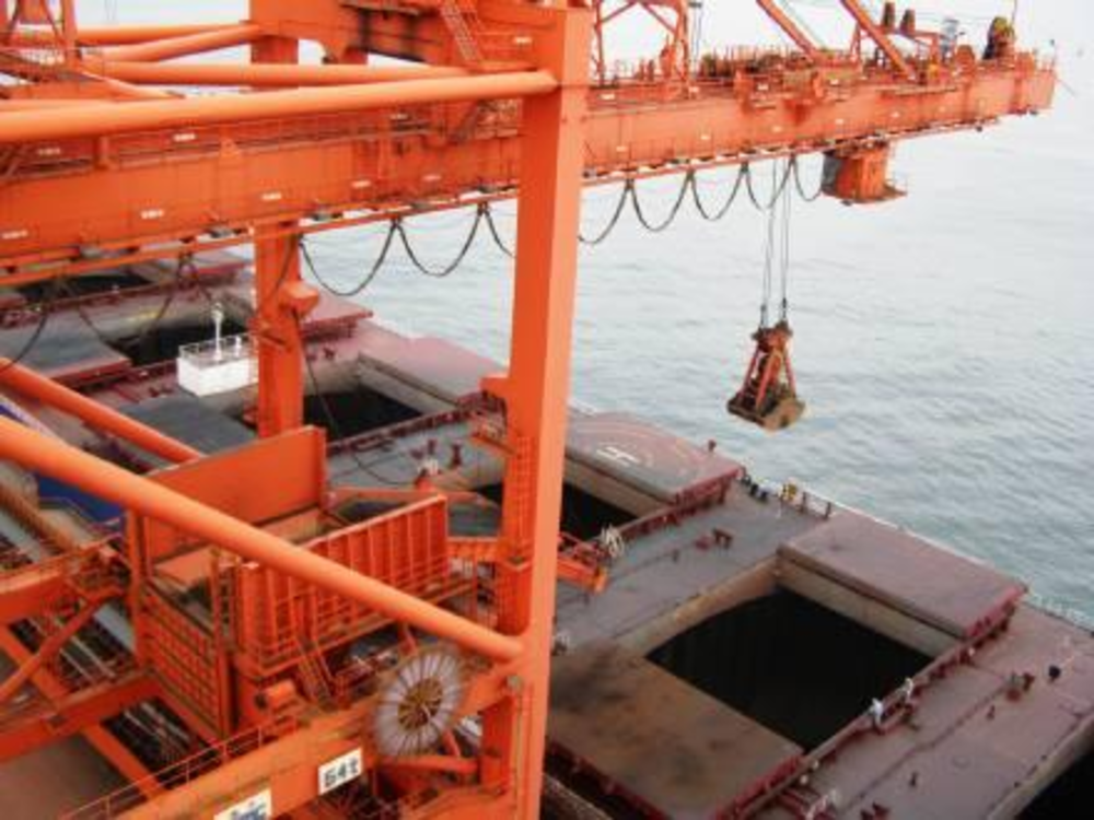 port loading and unloading