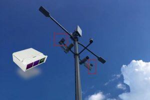 solid state lidar sensor on smart smart light poles