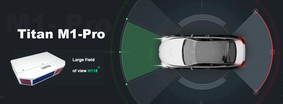 LiDAR for self-driving Titan M1-Pro