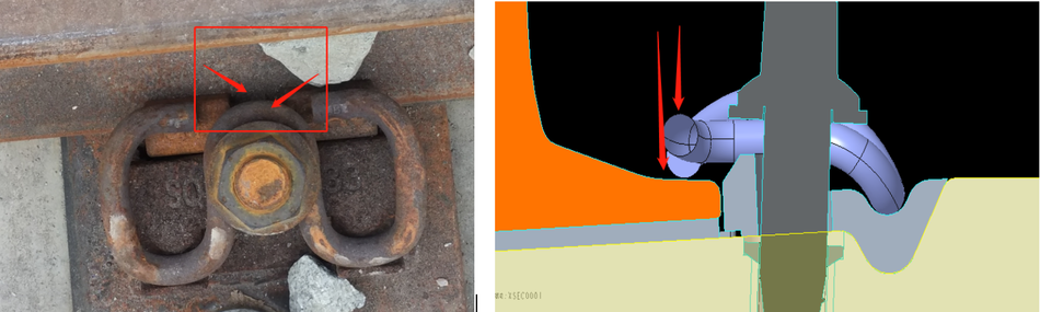 LiDAR System for Rail fasteners Detection