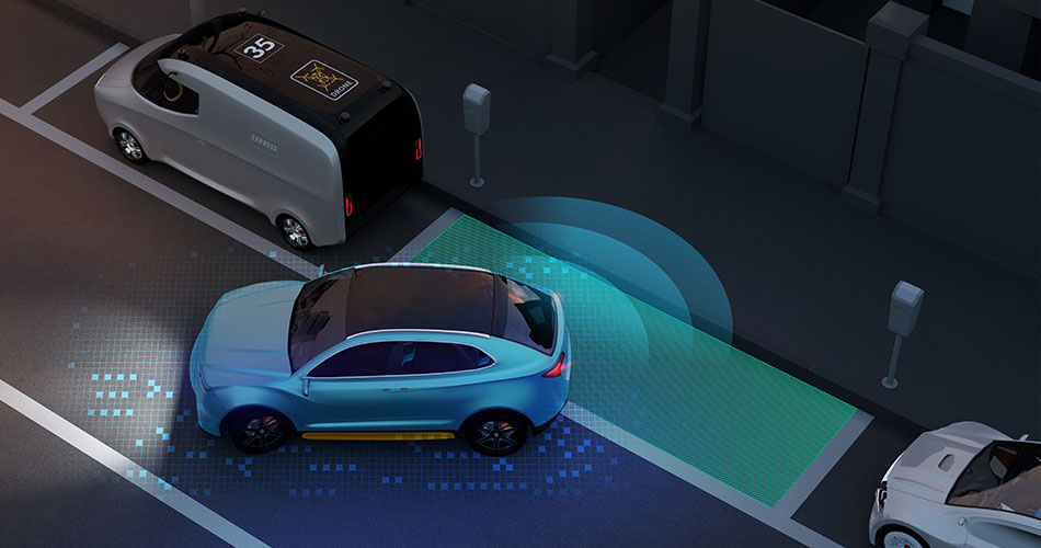 vehicle-mounted lidar for smart parking